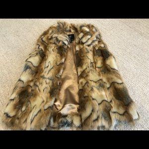 Rachel Zoe foe fur vest